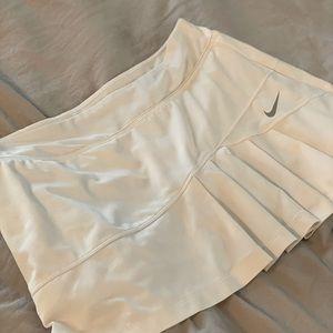 White flirty dri-fit white skirt. Size Large